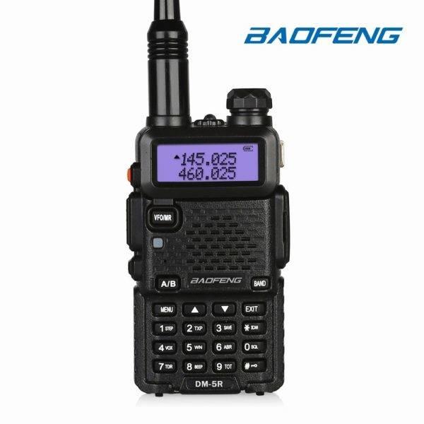 Baofeng DM5R digitális 2 sávos Urh Walkie Talkie adóvevő