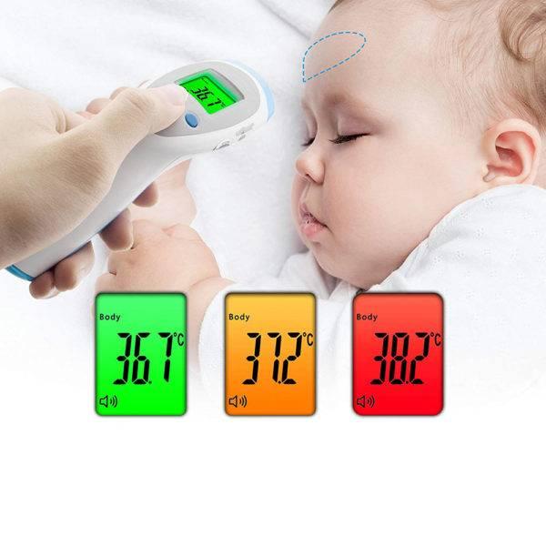 Három Funkciós Infra Távhőmérő - Lázmérő