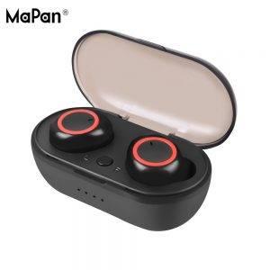 TWS vezeték nélküli fülhallgató - töltő dokkolóval
