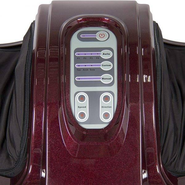 Elektromos lábmasszírozó gép - távirányítóval