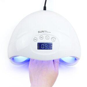 24 LED-es Köröm UV lámpa