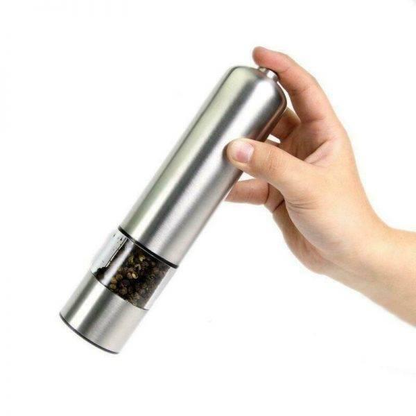 Elektromos só bors szóró, örlő készülék