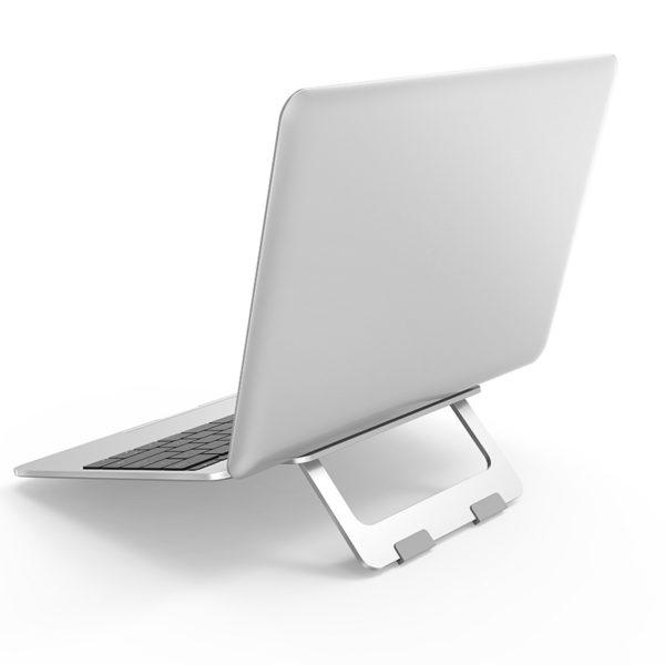 Fém asztali laptop tartó