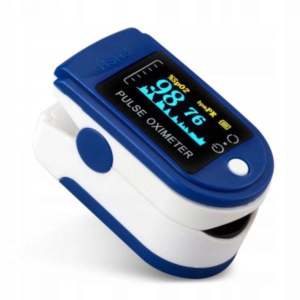 Pulzoximéter Pulzusmérő Véroxigénszint mérő készülék