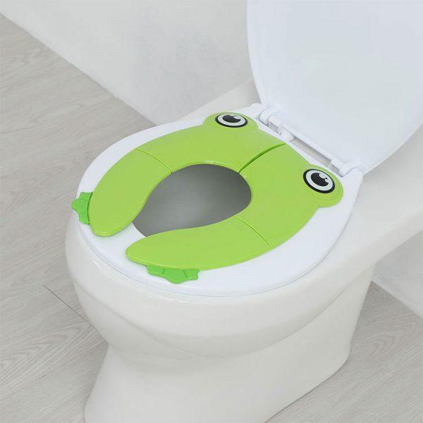Béka alakú WC szűkítő gyerekeknek